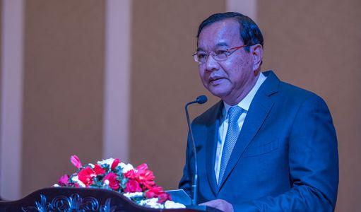 Foreign Affairs Minister Prak Sokhonn.