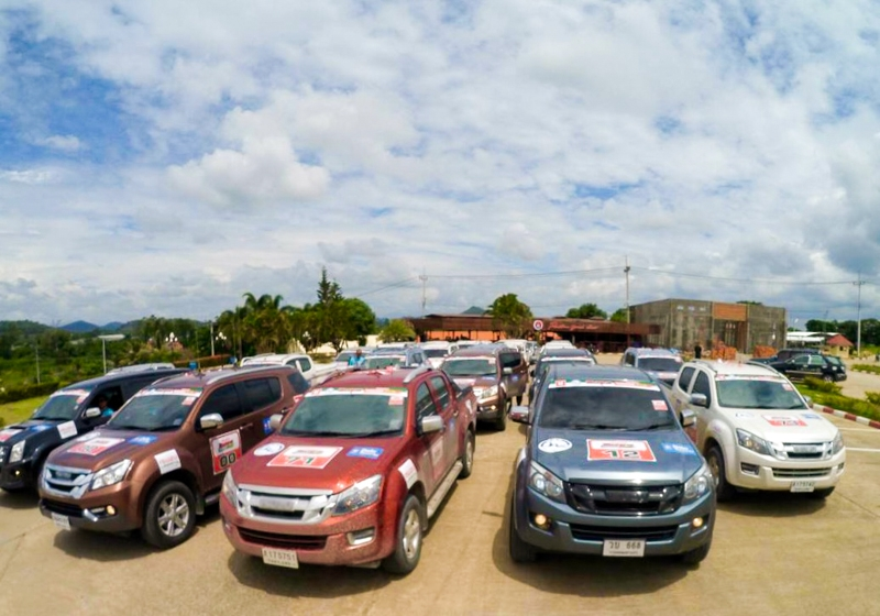 Thai Caravan Rolls Through Siem Reap on Cambodia Tour - Khmer Times
