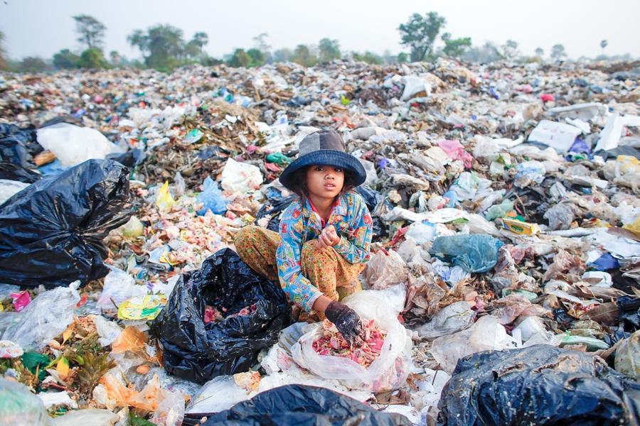 Siemreap dump site