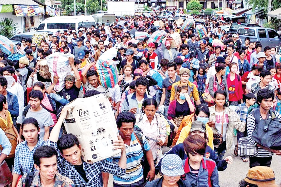 Workers to get Thai legal permits - Khmer Times