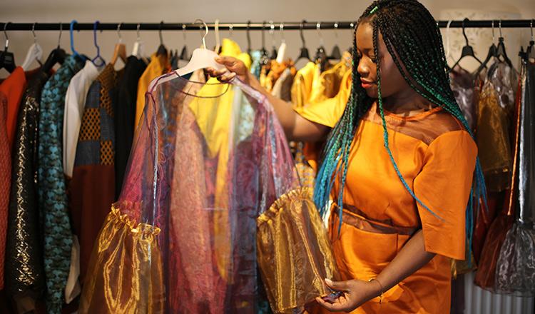 Former Sierra Leone Refugee Champions Ethical Fashion Khmer Times