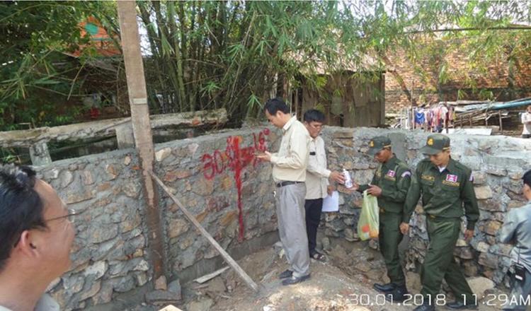 Sihanoukville governor slams construction gate - Khmer Times