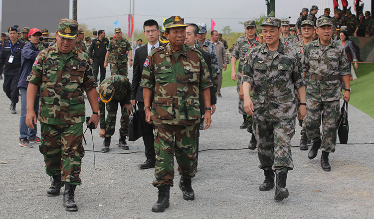 Cambodia, China end military exercise with live-fire drills - Khmer