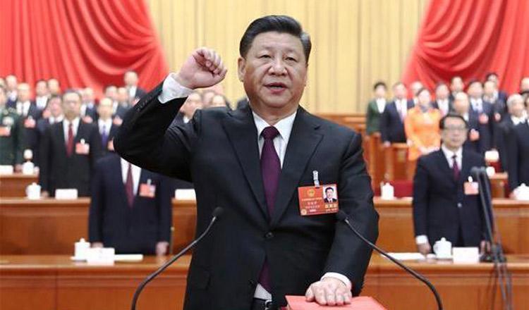 xi jinping re elected khmer times