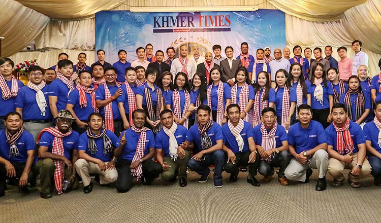 Khmer Times 4th Anniversary Celebration @ Himawari Hotel Apartments