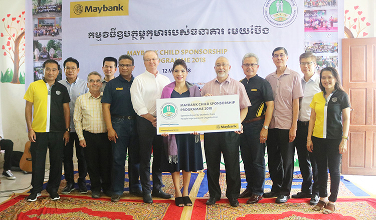 Maybank Child Sponsorship Programme  @ People Improvement Organisation (PIO)