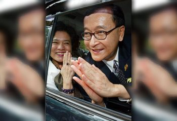 Rainsy asks King not to heed CPP's call