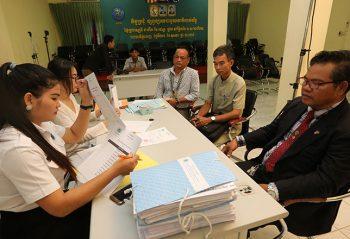 No complaints filed during election registration