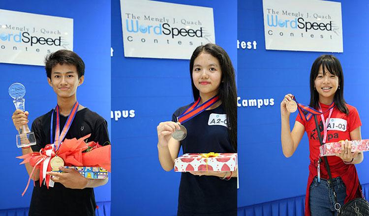 6th Mengly J. Quach WordSpeed Contest @ Aii Language Center Mao Tse TUng Campus