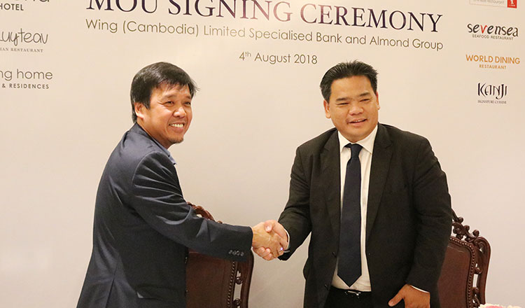 Wing and Almond Group Partner for Customer Cashless Payment Experience @ Yi Sang The Garden Toul Kork