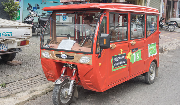 The ubiquitous three-wheelers