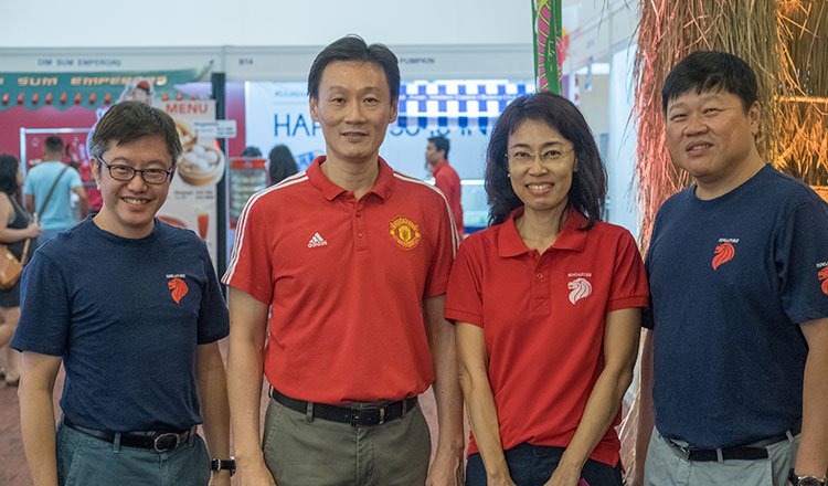 53rd Singapore National Day on August 11, 2018, held at Koh Pich Hall