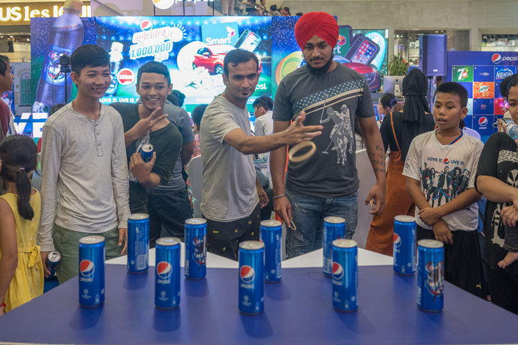 PEPSI LUCKY DRAW GRAND FINALE ON AUGUST 12, 2018, HELD AT AEON MALL 1
