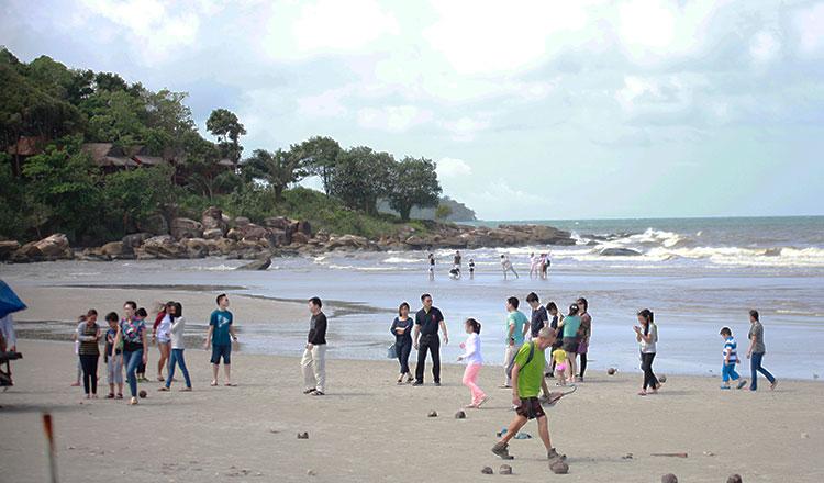 Otres Beach in Sihanoukville