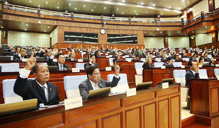 National Assembly adopts council seat amendment - Khmer Times
