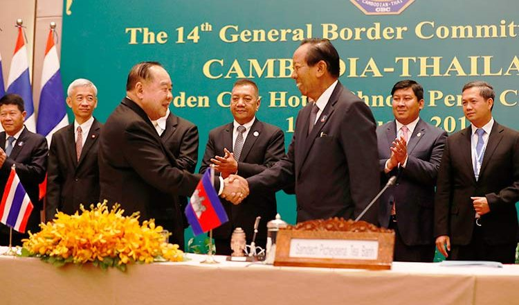 Cambodia-thai-border-talk