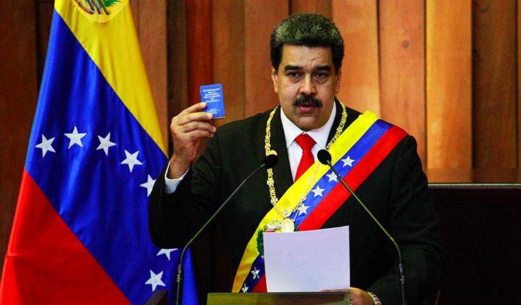 Venezuelan President Nicolas Maduro