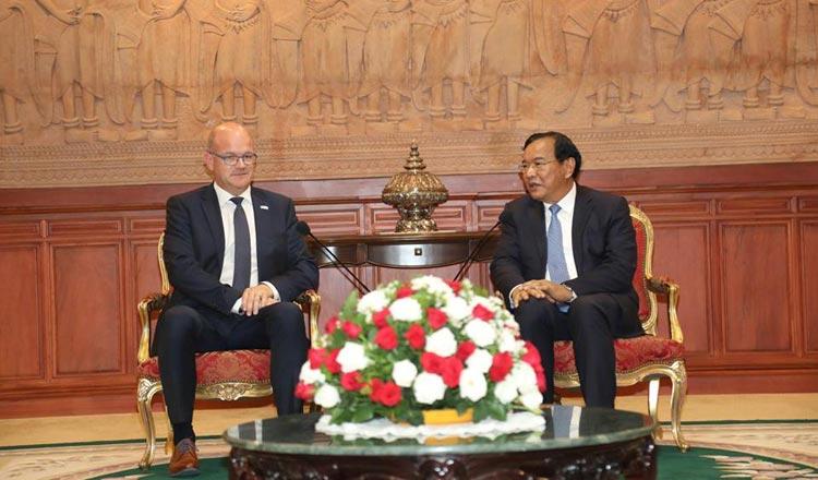 Foreign Minister Prak Sokhonn
