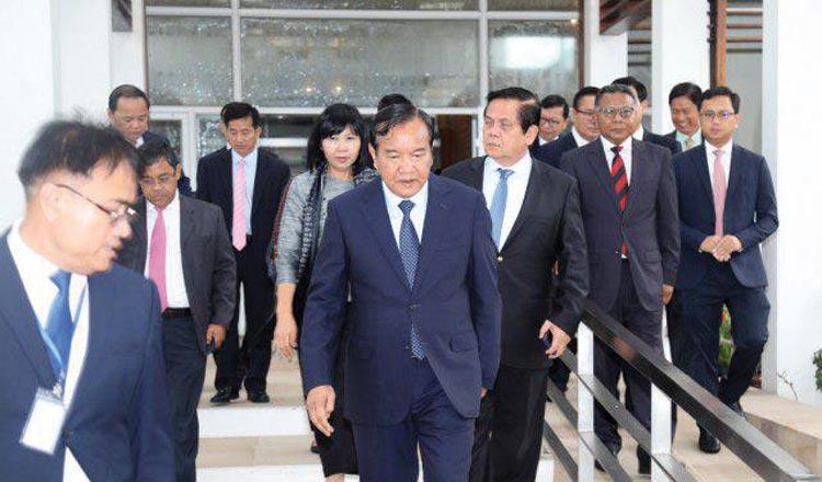 Prak Sokhonn attends Asean Foreign Ministers Meeting in Bangkok