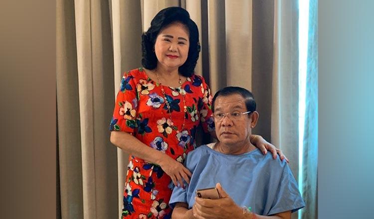 Hun Sen in Singapore