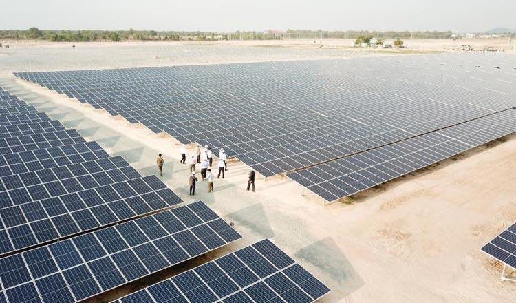 60-megawatt solar farm in Kampong Speu