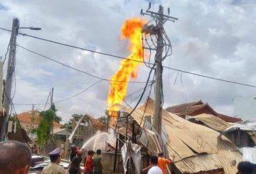 Siemreap LPG blaze