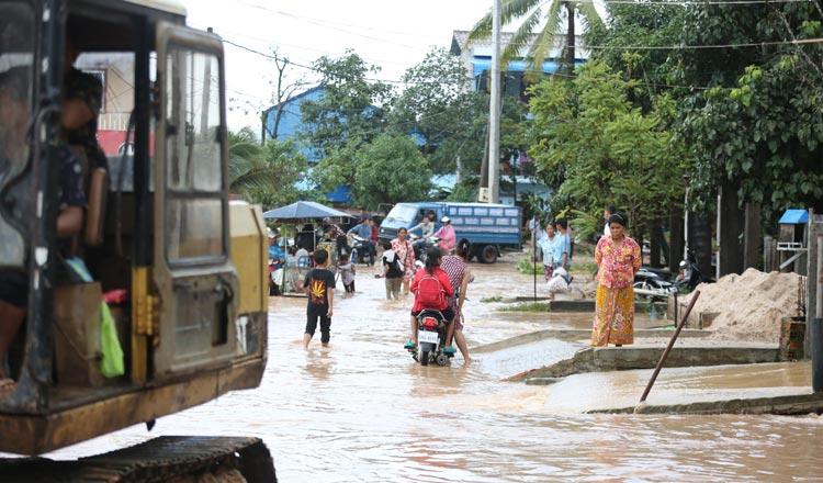 Sihanouville flood