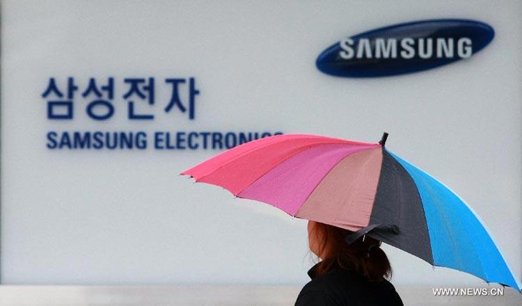 Samsung seeks alternatives to Japanese suppliers - Khmer Times