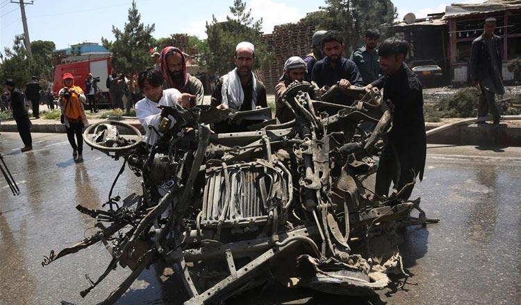 Taliban tractor-bomb blast kills 16 in Kabul - Khmer Times