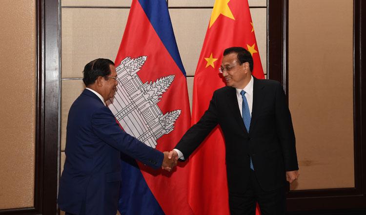 Hun Sen Li Keqiang