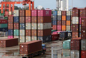 Container in Cambodia