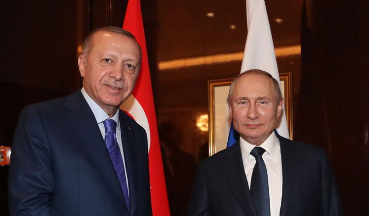 Vladimir Putin Rekindles Recep Tayyip Erdogan S Lost Love For Nato Khmer Times